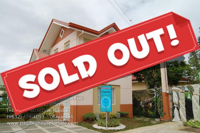 Giardino Residences Gianna Model – Cheap Houses for Sale Gen.Trias Cavite