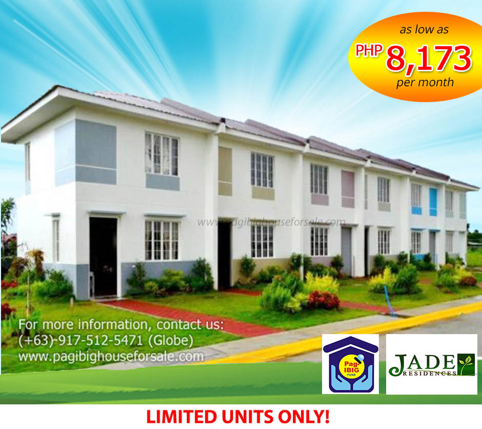 Jade Residences - Pag-ibig Rent to Own Houses for Sale in Imus Cavite