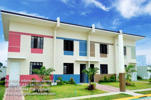 Istana Tanza Maya House Model - Pag-ibig Rent to Own Houses for Sale in Tanza Cavite