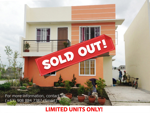Parc Royal Era Model - Pagibig Houses for Sale in Imus Cavite