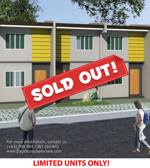 Parc Royal Gabby Model - Pagibig Houses for Sale in Imus Cavite
