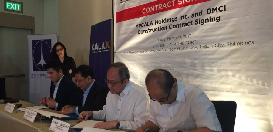 METRO PACIFIC, DMCI SIGN CAVITE-LAGUNA EXPRESSWAY DEAL