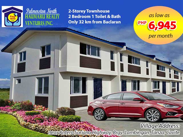 Palmerston Tanza - Pag-ibig Rent to Own Houses for Sale in Tanza Cavite