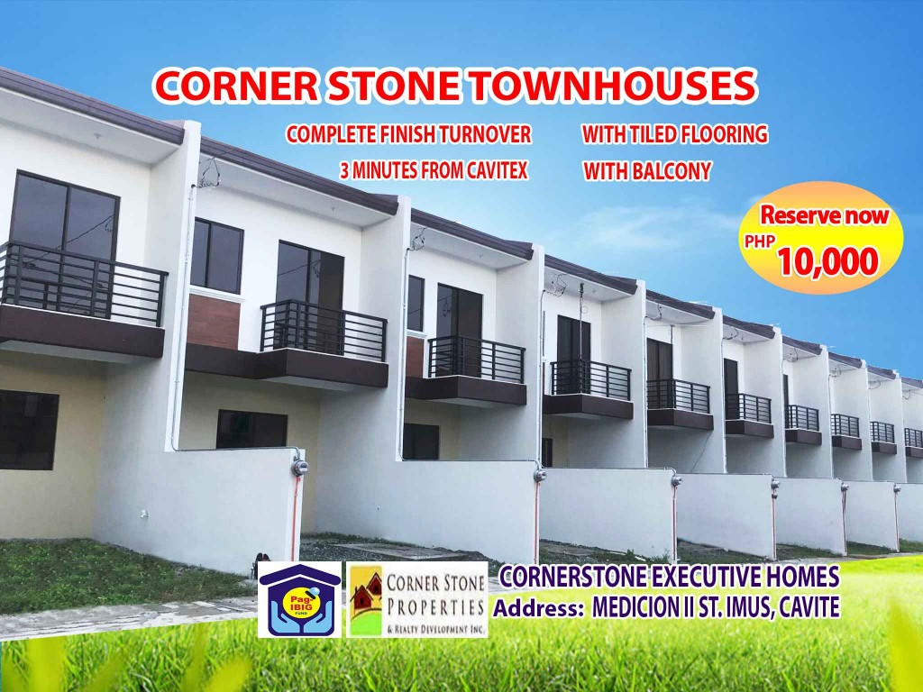 Cornerstone – Pag-ibig Rent to Own Houses for Sale in Imus Cavite