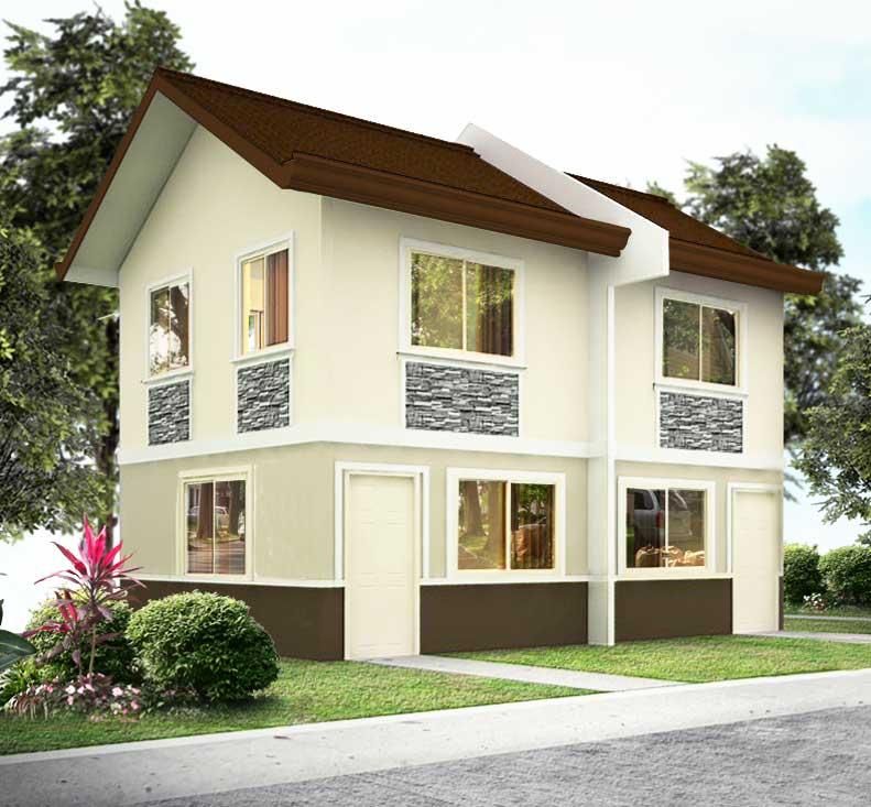 House Homes For Rent: Metroville Sampaguita House Model