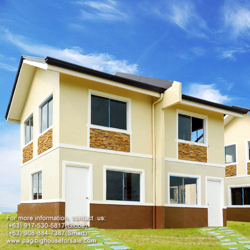 Tierra Vista Jasmine Duplex - Pag-ibig Rent to Own Houses for Sale in General Trias Cavite