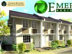Emerald Residences House Model - Pag-ibig Rent to Own Houses for Sale in Tanza Cavite