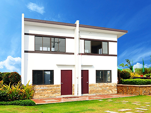 Metroville Sampaguita House Model - Pag-ibig Rent to Own Houses for Sale in Tanza, Cavite