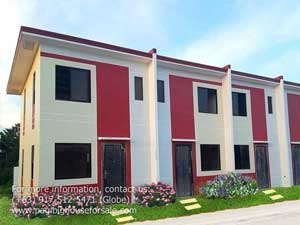 Westdale Villas House Model - Pag-ibig Rent to Own Houses for Sale in Tanza Cavite