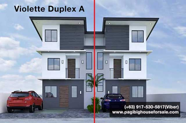 The Garden Villas Tanza Violette Duplex A - Pag-ibig Rent to Own Houses for Sale in Tanza Cavite