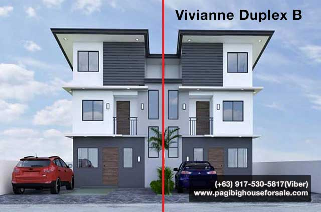 The Garden Villas Tanza Vivianne Duplex B - Pag-ibig Rent to Own Houses for Sale in Tanza Cavite