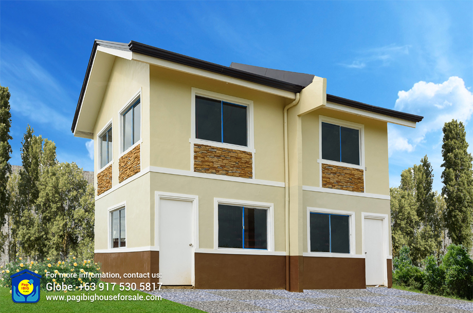 The Palm Residences Jasmine Duplex – Pag-ibig Rent to Own Houses for Sale in Tanza Cavite