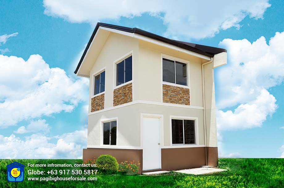 The Palm Residences Jasmine Single Attached – Pag-ibig Rent to Own Houses for Sale in Tanza Cavite