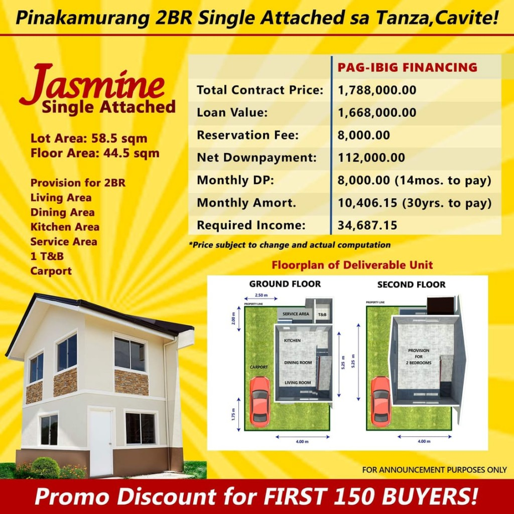 the-palm-residences-tanza-pagibig-house-for-sale