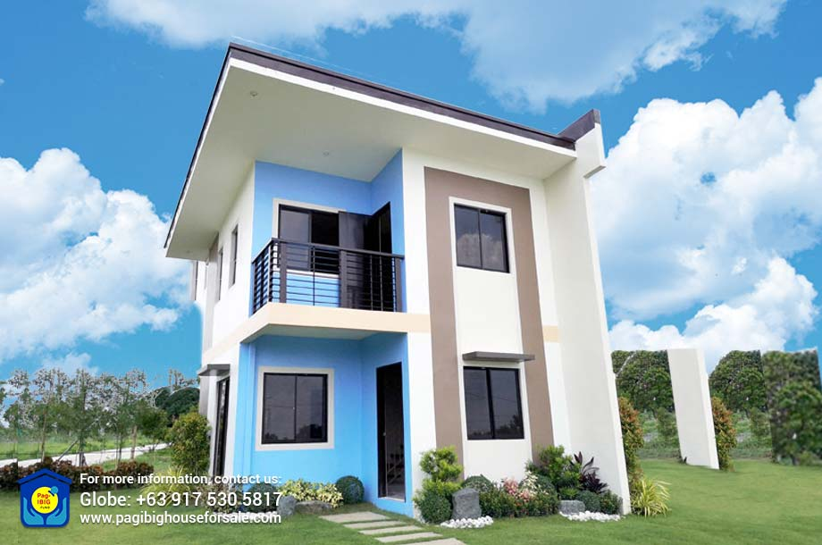 Manors at Golden Horizon Louisa Single Attached – Pag-ibig Rent to Own Houses for Sale in Trece Martires Cavite
