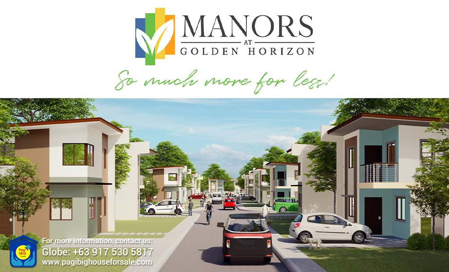 Manors at Golden Horizon – Pag-ibig Rent to Own Houses for Sale in Trece Martires Cavite