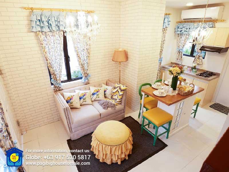 Aria at Idesia Dasmarinas Living Room