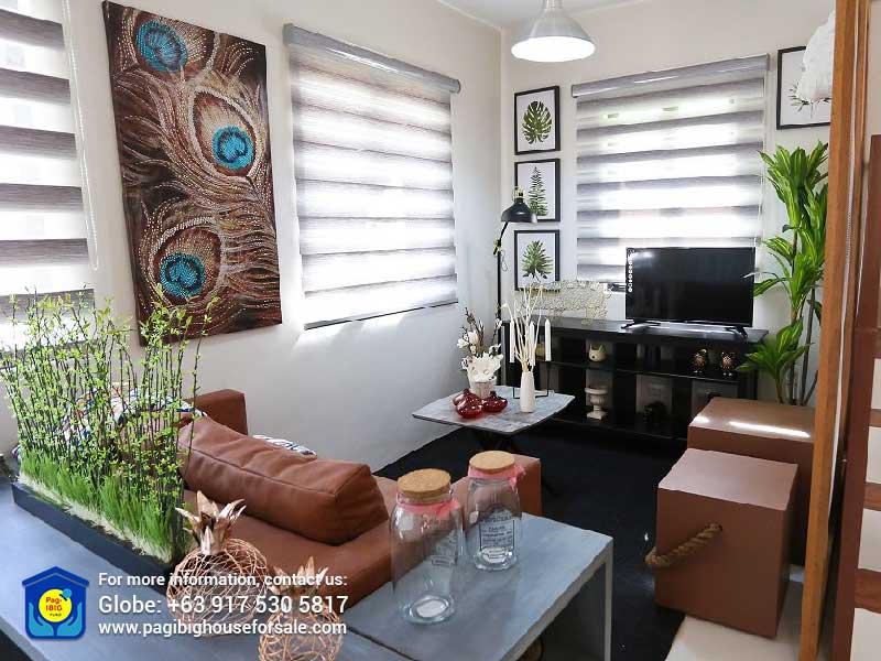 Gaia at Idesia Dasmarinas Living Room