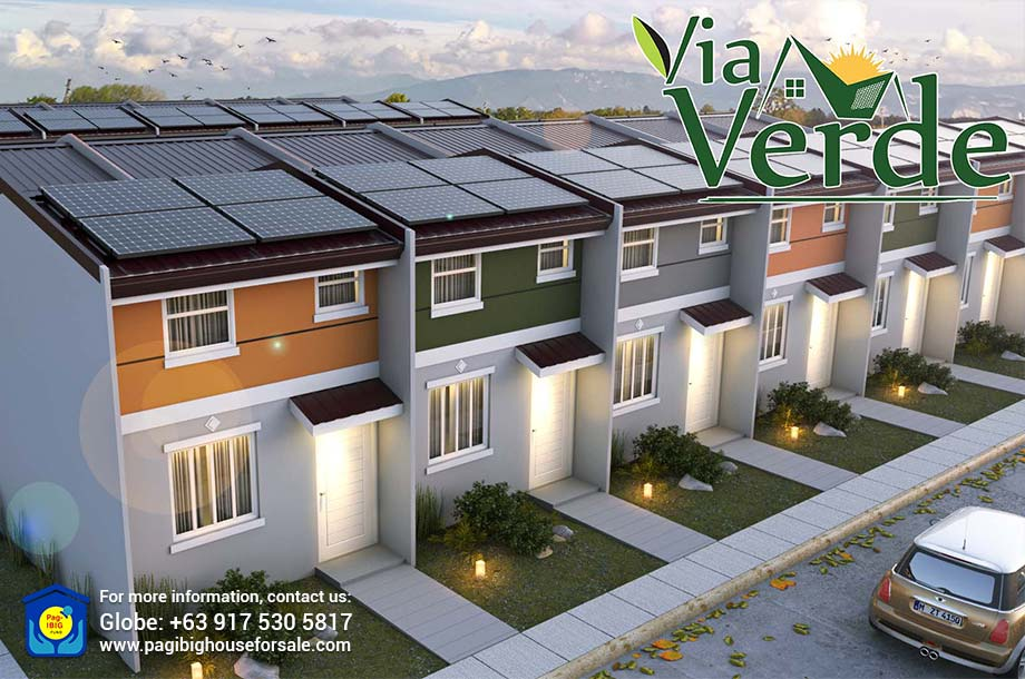Via Verde – Pag-ibig Rent to Own Houses for Sale in Trece Martires, Cavite
