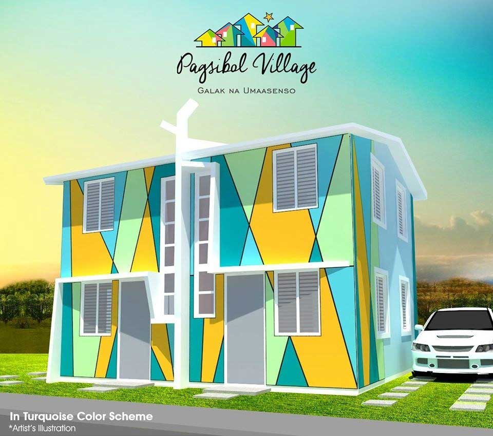 Duplex at Pagsibol Village – Pag-ibig Rent to Own Houses for Sale in Naic Cavite